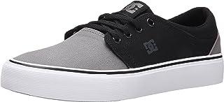 DC Shoes Mens Shoes Trase Tx - Low Shoes - Unisex - US 4.5 - Grey Grey/Black/Grey US 4.5 / UK 3.5 / EU 36.5