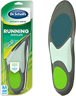 Dr. Scholl's RUNNING Insoles // Reduce Shock and Prevent Common Running Injuries: Runner's Knee, Plantar Fasciitis and Shin Splints (for Men's 10.5-14, also available for Men's 7.5-10 & Women's 5.5-9)