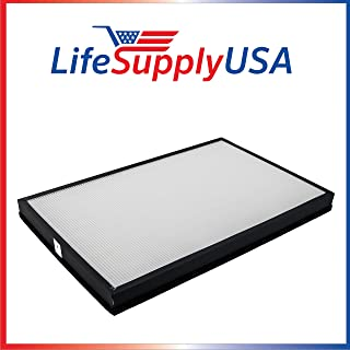 LifeSupplyUSA Replacement HEPA Filter Compatible with Envion AllergyPro Allergy Pro AP450 AP 450 Dimensions: 17.75 x 11.5 x 1.5