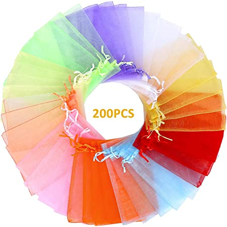 Wholesale lots 600pcs mixed color wedding silk jewelry organza pouch gift 10x13
