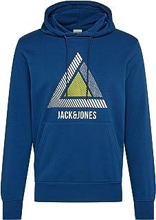 Jack & Jones Men's Jcogeek Sweat Hood FST Sweatshirt