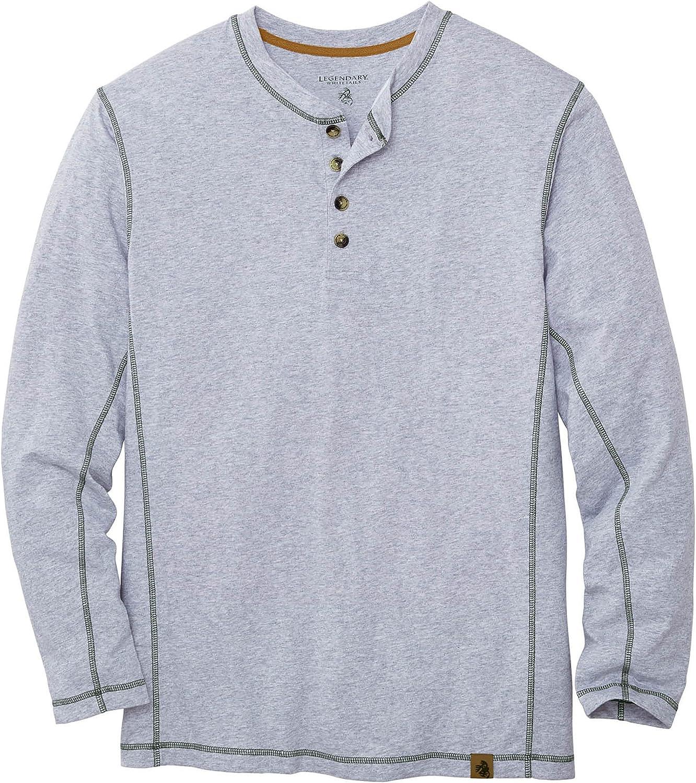 Legendary Whitetails Men's Now Save money on sale Maverick Henley Shirt Slub