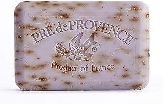 Pre de Provence Artisanal French Soap Bar Enriched with Shea Butter, Lavender, 250 Gram