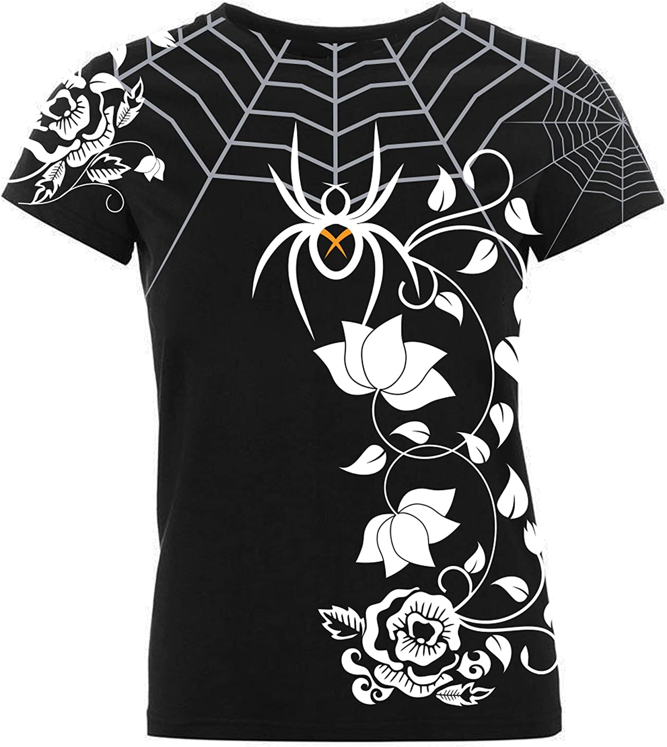 BLACK WIDOW COMBAT SPORTS Women's Spider Web Rash Guard