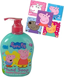 8ed282ed7 Peppa Pig Kids 8oz Bubble Gum Scented Hand Soap Featuring Peppa & George!  Plus Bonus