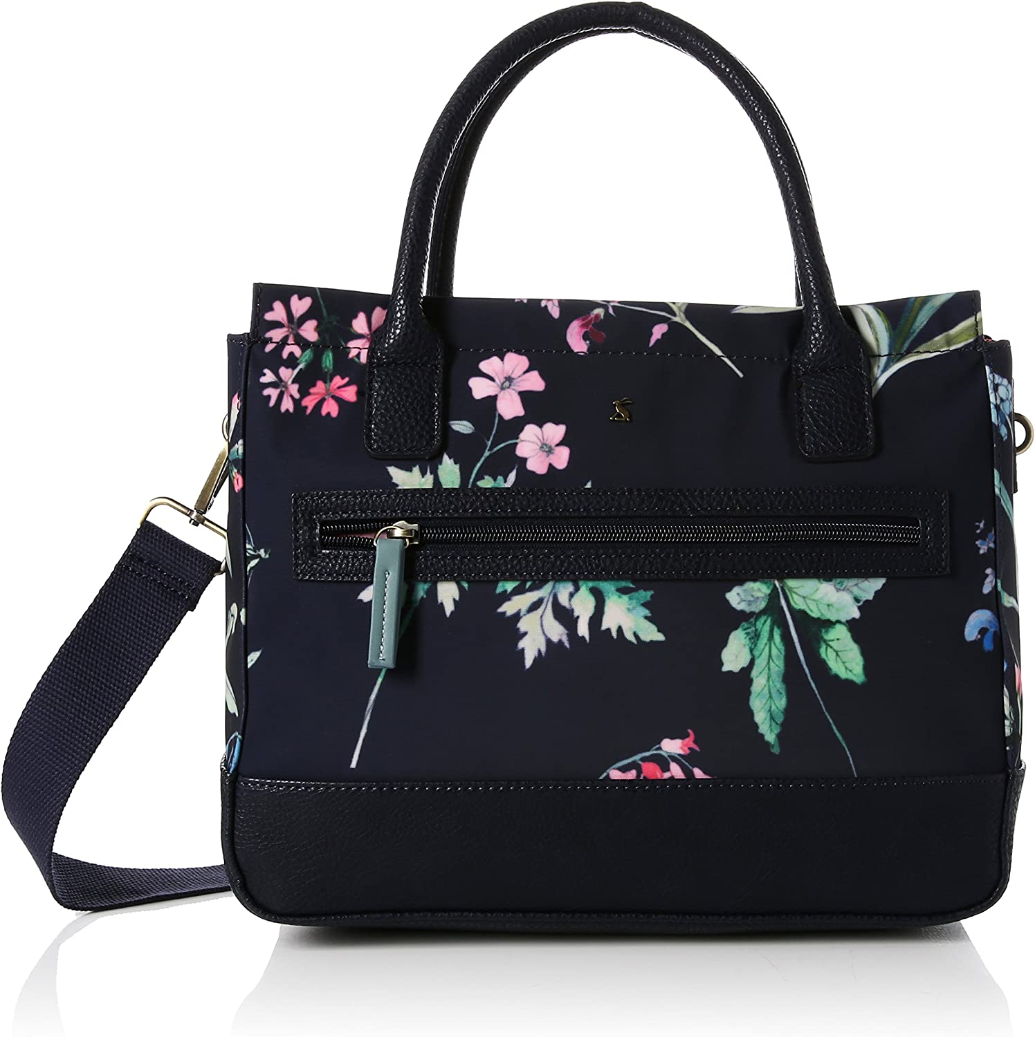 Joules Daytoday Coated Canvas Everyday Bag (Y) Navy Botanicals One Size