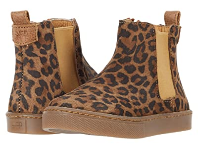 Freshly Picked Chelsea Boot (Toddler/Little Kid) (Leopard) Girl