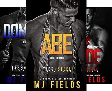 M.J. Fields Ties of Steel Series [Books 1-4]