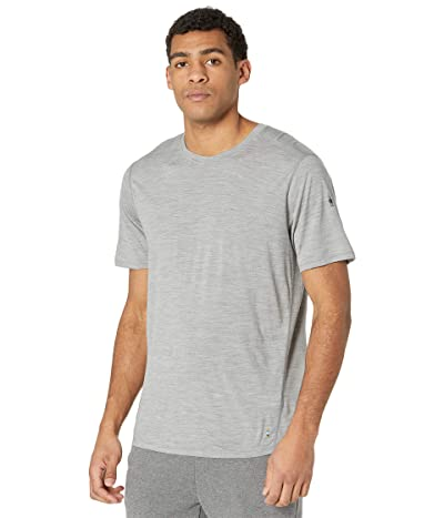 Smartwool Merino 150 Base Layer Short Sleeve (Light Gray Heather) Men