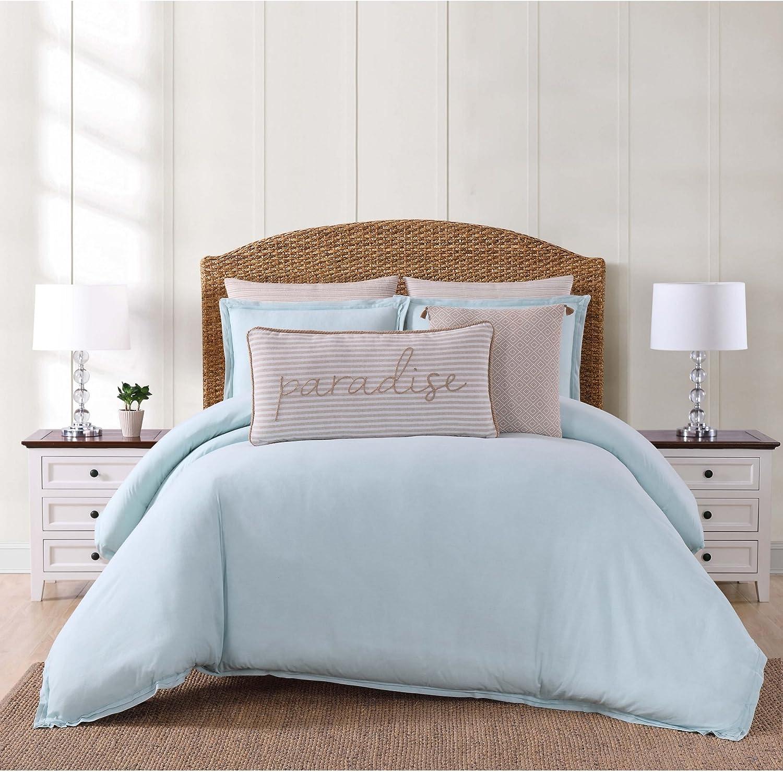 Oceanfront Resort CS2364AQKG-1500 3 Piece Comforter Set, King, Aqua