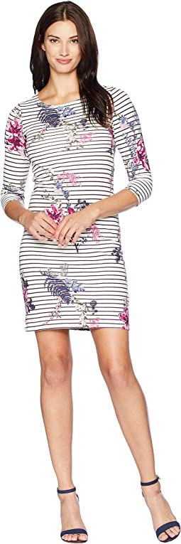 Riviera Printed Jersey Dress
