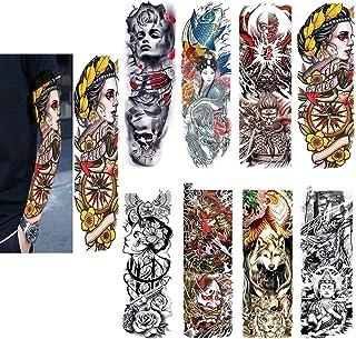 Amazonit Croci Tatuaggi Temporanei Corpo Bellezza
