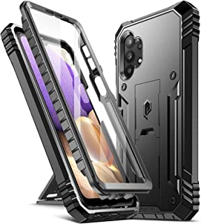 Poetic Revolution Series Case for Samsung Galaxy A32 5G, Full-Body Rugged Dual-Layer Shockproof Protective Cover with Kick...