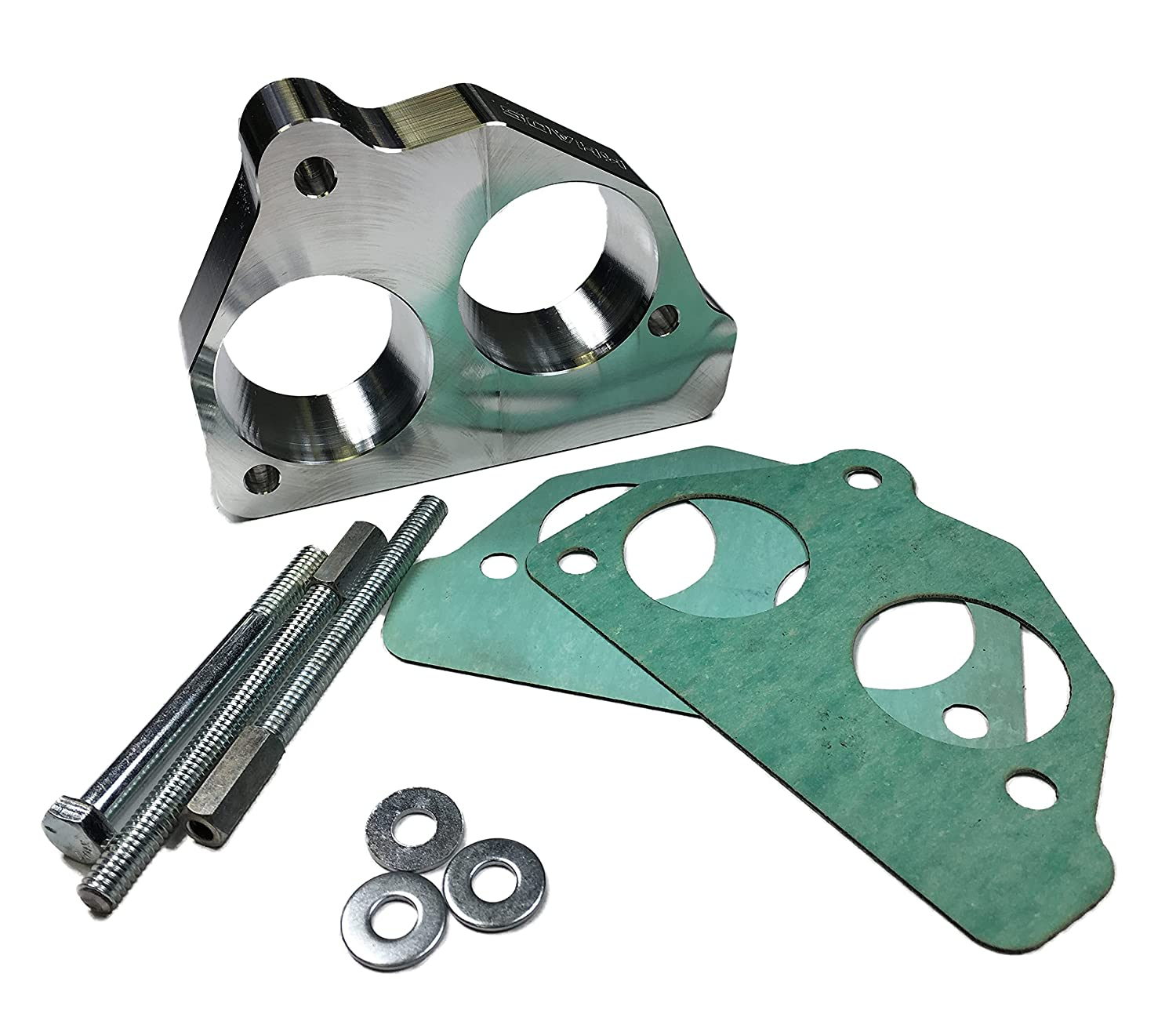 Throttle online shopping Body Spacer TBI Adaptor Big Small Bore to 1 year warranty 87-95 G Chevy