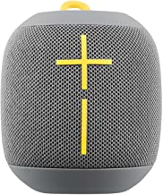 Logitech Ultimate Ears WONDERBOOM Super Portable Waterproof Bluetooth Speaker - Stone Grey(Renewed)