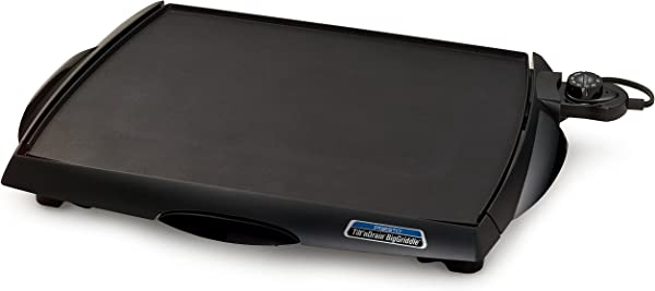 Presto 07046 Tilt N Drain Big Griddle Cool Touch Electric Griddle