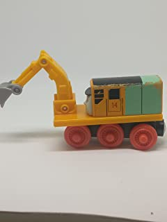 Oliver The Excavator - Thomas Wooden Railway Tank Train Engine - Brand New Loose