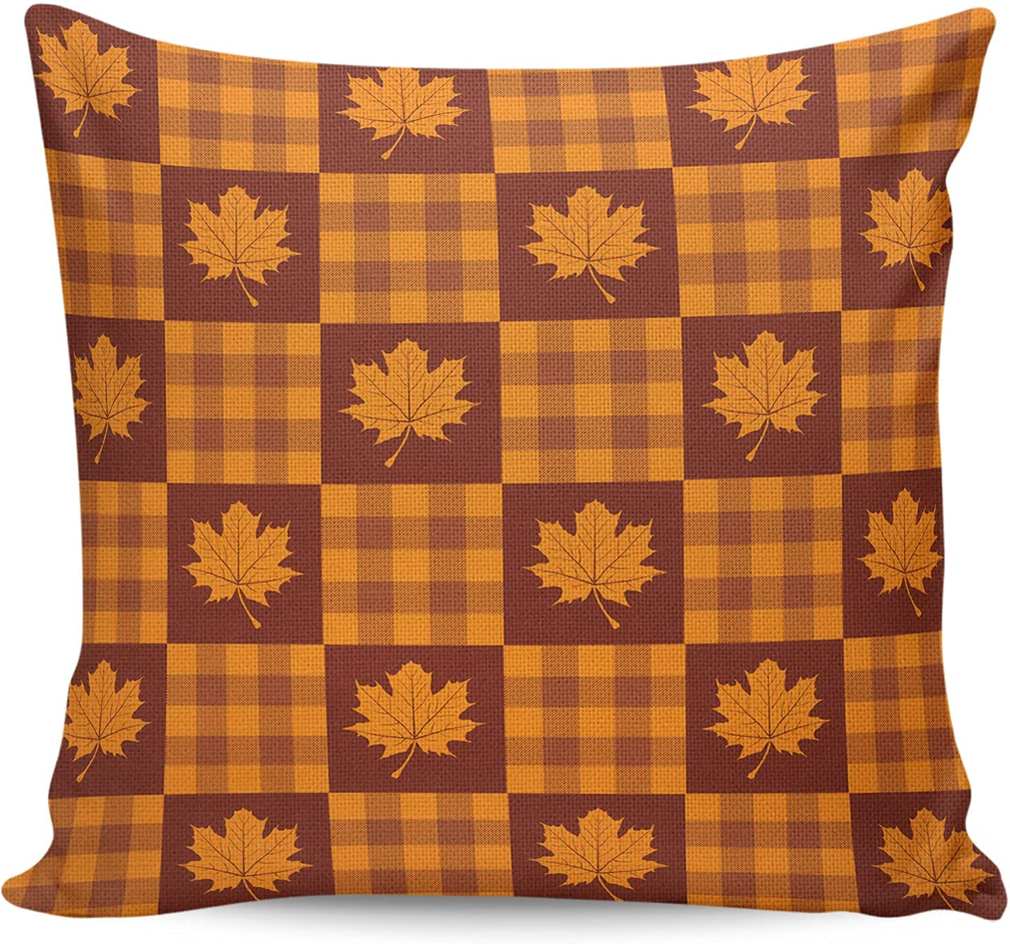 ARTSHOWING Thanksgiving Limited time for free shipping Square Decorative Case Throw Dua Pillow NEW before selling ☆