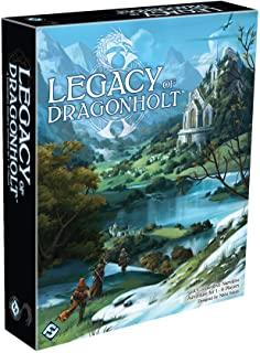 Fantasy Fight Games Legacy of Dragonholt Board Game - 14 Years & above, Mixed Colours