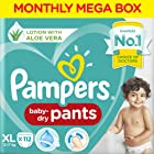 Pampers New Diaper Pants, XL, 112 Count