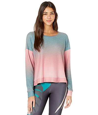 Onzie High-Low Sweatshirt (Beach Balm) Women