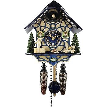 HerrZeit by Adolf Herr Adolf Herr Quartz Cuckoo Clock - Magic Blue AH 34 QM