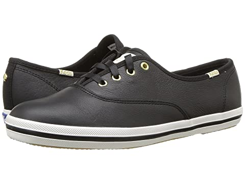 x kate Black Tumbled Leather Champion york new spade Keds dCTqzd