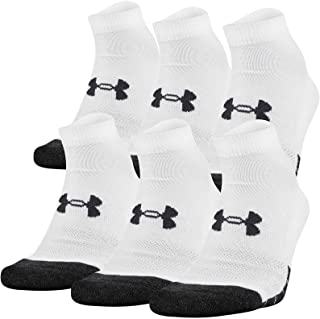 Under Armour womens Performance Tech Low Cut Socks (3 and 6 Pack)