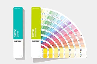 PANTONE GP5101A CMYK Guide Set Coated & Uncoated Colour Reference, Multi-Colour