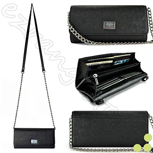 b7179c9202 Case+Stand Women Luxury Purse Pouch Clutch Fits ALCATEL KYOCERA Nokia Sony  etc