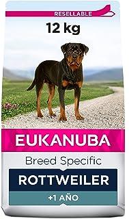 EUKANUBA Breed Specific Alimento seco para perros rottweiler adultos, alimento para perros óptimamente adaptado a la raza ...
