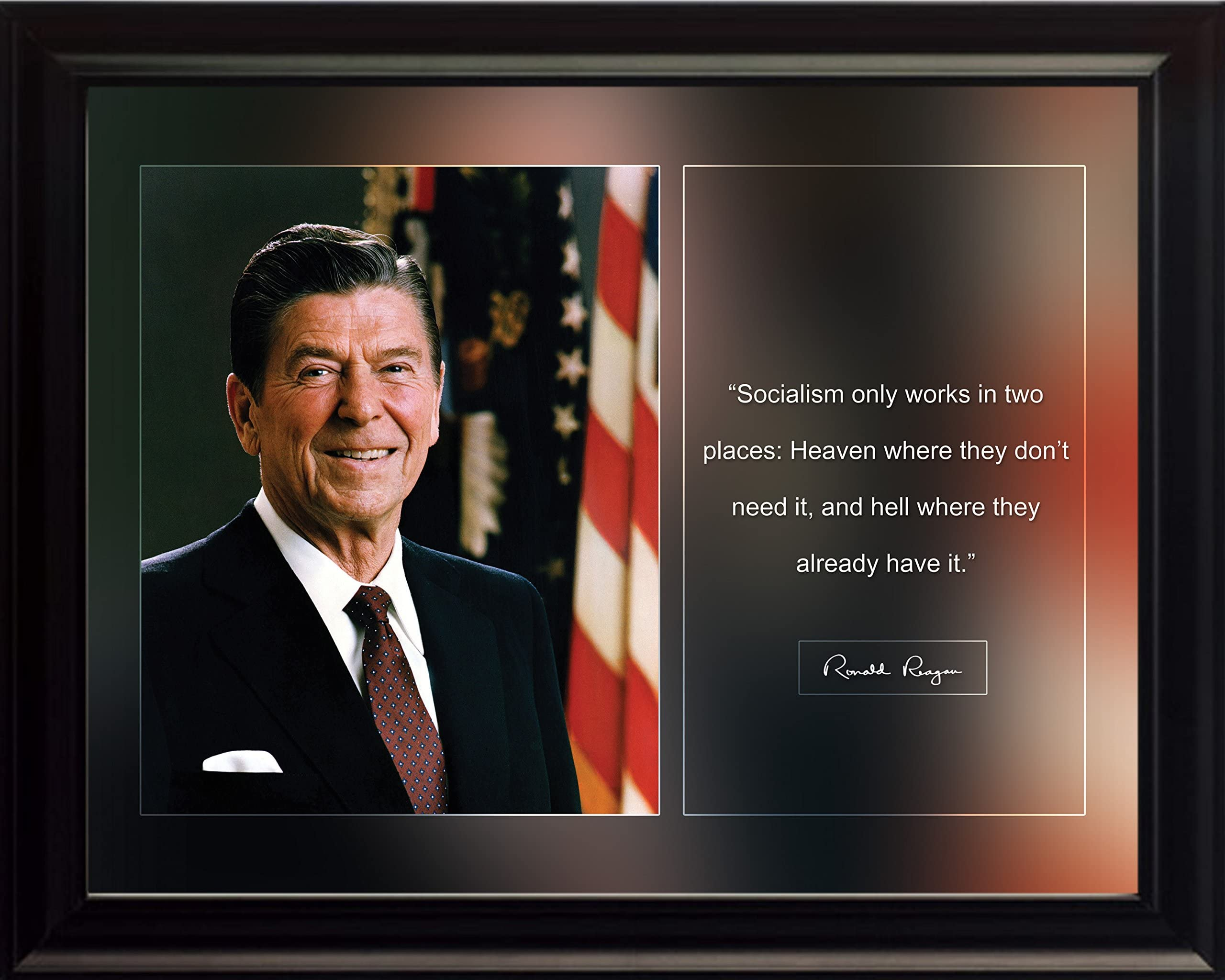 RONALD REAGAN 8X10 GLOSSY PHOTO PICTURE IMAGE #6