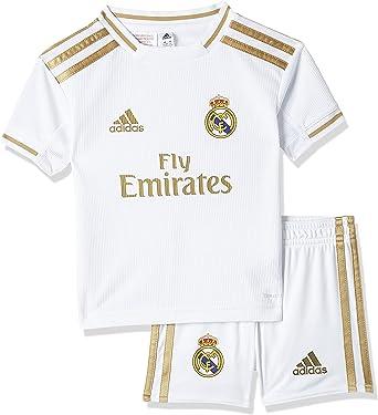 Amazon.com: adidas 2019-2020 Real Madrid Home Mini Kit : Clothing ...