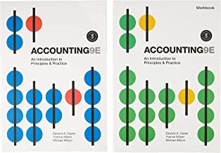 Bundle: Accounting: An Introduction to Principles and Practice + Accounting: An Introduction to Principles and Practice Wo...