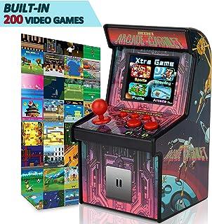 "GBD Kids Mini Retro Arcade Game Consoles Machine 200 Handheld Video Games Cabinet 2.5"" Display Joystick Travel Portable Game Player Kids Teens Boys Girls School Supplies Holiday Toys Birthday Gifts"