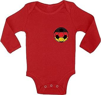 Awkward Styles Germany Soccer Team Baby Bodysuit Long Sleeve Baby Germany 2018