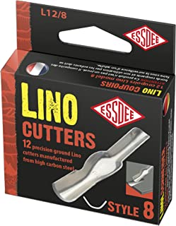 ESSDEE Lino Cutter 25 Assorted Cutters 1-5 Set Art Craft