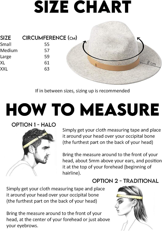 Lack of Color Women's Classic Luxe Wool Felt Fedora Hat