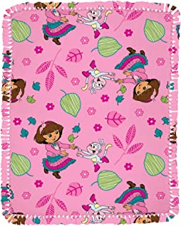 Springs Creative Products Nickelodeon Dora Allover Microfiber Throw Kit