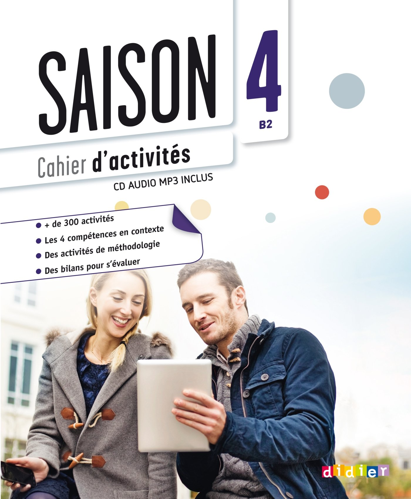 Saison 4 niv.B2   Cahier   CD mp3