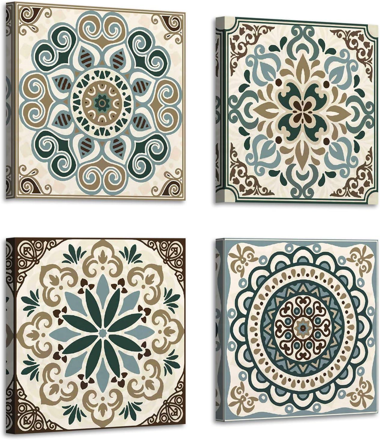 ARTISTIC PATH Bohemia Pattern 新作 大人気 Printing Art: Vintage Flower Wall クリアランスsale 期間限定