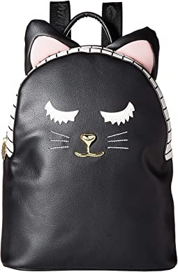 LBMilla PVC Kitch Backpack w/ Cat Face & 3D Ears
