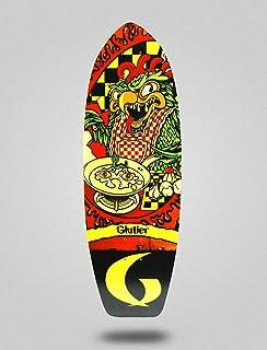 Glutier Surfskate Deck Green Top 31 monopatin Skat...