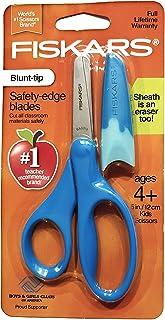 Fiskars Blunt-tip Safety-edge Blade Scissors Navy blue