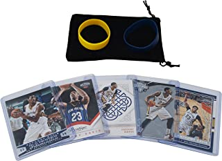 Anthony Davis Basketball Cards Assorted (5) Bundle - Los Angeles Lakers Trading Cards
