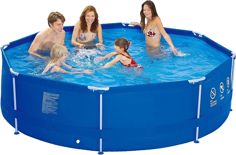 Jilong runder Family Pool Ø 300 x 76 cm Stahlrahmen Schwimmbad Garten Schwimmbad FamilienpoolB01BKHW1M6Neues Produkt  | New Style