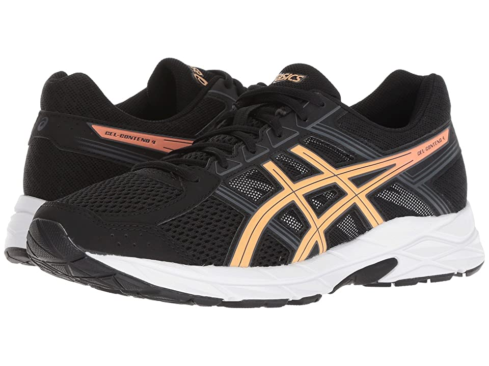 ASICS GEL-Contend 4 (Black/Apricot/Carbon) Women