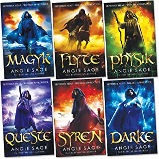 Septimus Heap Collection 6 Books Set Pack (Darke, Magyk, Flyte, Physik, Queste, Syren) (Wizard Apprentice Series Collectio...