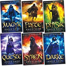 Septimus Heap Collection 6 Books Set Pack (Darke, Magyk, Flyte, Physik, Queste, Syren) (Wizard Apprentice Series Collection) (Septimus Heap, 1-6)