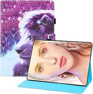 جراب Mylne لهاتف Samsung Galaxy Tab S7 Plus {12.5 بوصة} (T970/T975/T976)، جراب جلدي قابل للطي مزود بحامل مغناطيسي ذكي مزود...